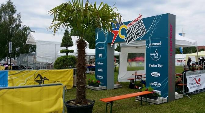 Rothsee Triathlon (Schüler) – In Mittelfranken auf Podestplatz