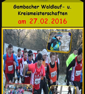 Cross-Kreismeisterschaften in Gambach