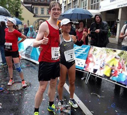 Verregneter Würzburg Marathon
