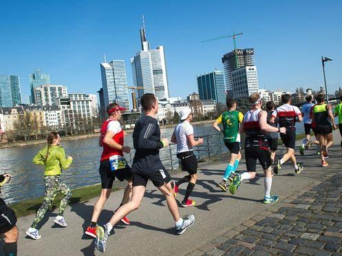 Mainova Halbmarathon in Frankfurt