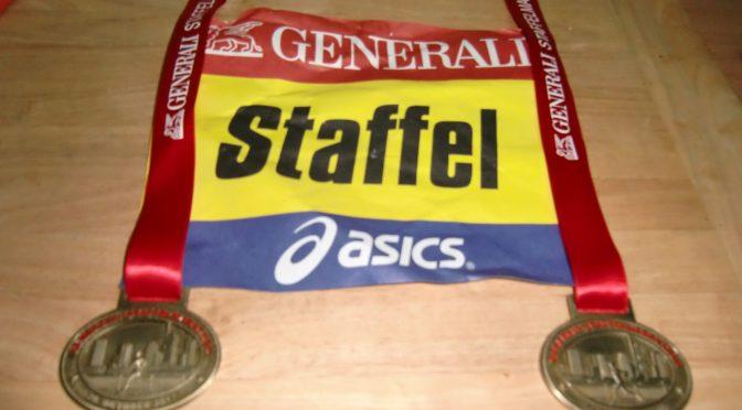 Marathon Frankfurt 2017 Staffel