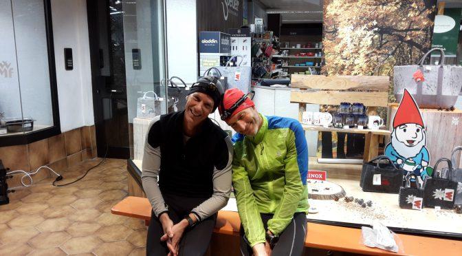 Nacht mit den 100 Meilen Läufern