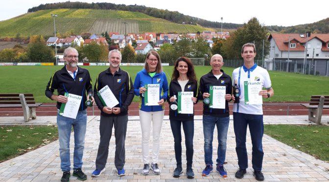 Nur Platzierte in Ramsthal und Karlsruhe